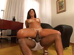 Sexy Brazilian is a slut that sits on dicks tubes