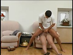 Hypnotized girl in pantyhose fucked as she sleeps tubes