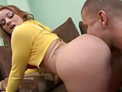 She teases her tremendous ass to arouse him tubes