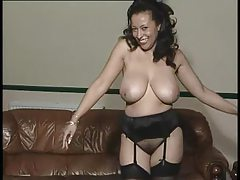 Milf in gorgeous lingerie in a softcore tease tubes