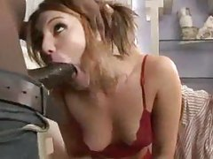 His girlfriend openly cuckolds him with BBC tubes