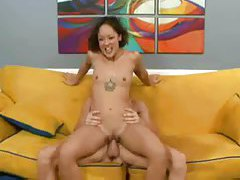 A squirting slender girl fucked by a big cock tubes