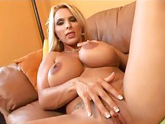 An amazing Holly Halston masturbating solo tubes