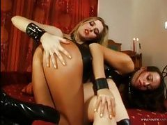 Hot ladies are into fun anal toy play tubes