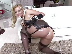 Phoenix Marie squirts lingerie all over her body tubes