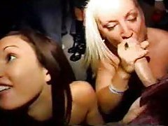 Hot chicks sucking dick at a college party tubes