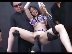 Strapped And Dominated Asian tube