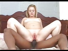 Young white girl with big ass has black butt sex tubes