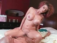 Curvy and busty Joslyn James pounded tubes