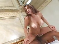 BBC in the curvy chick with big natural titties tubes