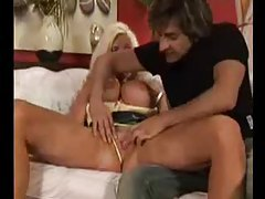 He sucks her nipples and eats her wet pussy tubes