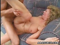 Mature amateur housewife homemade fucking with cumshot tubes
