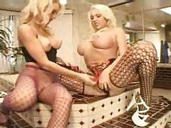 Monica Mayhem in lusty lesbian foreplay fun tubes