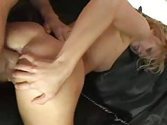 Dirty whore in black latex boots hard anal sex tubes
