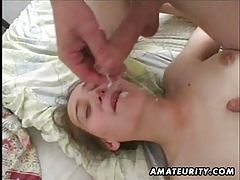 Amateur girlfriend homemade blowjob anal and facial cumshot tubes