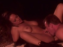 Old school pornstar Asia Carrera banged tubes