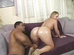 Muscular black man and slender teen foreplay tubes