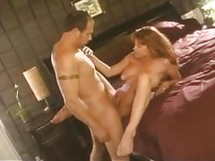 Redhead milf makes him cum with mouth and tits tubes