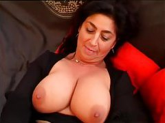 Chubby mature gobbles cock and gets fucked tubes