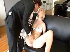 Jewish man charmed by a blonde slut tubes