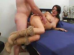 Horny fuck slut Sophie Dee boned tubes