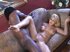 Black guy uses her pussy and ass to get off tubes