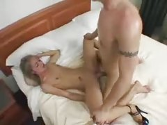Wicked petite chick laid by a large cock tubes