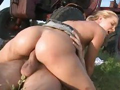 Farm girl fucked in her tight ass tubes