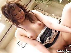 Junna Aikawa gets a nasty creampie tubes