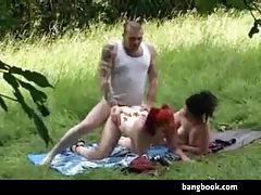 Two Hot Emo Chicks Getting Fucked Outdoors tubes