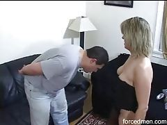 Milf kicks him in the balls tubes