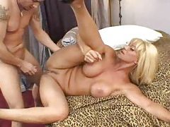 Big cock pounds into the slutty blonde whore tubes