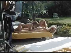 Retro lesbians filmed eating pussy outdoors tubes