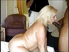 Fat wife sucking dick and fucking in hotel room tube