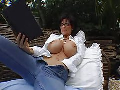 Deauxma masturbates and sucks dick outdoors tubes