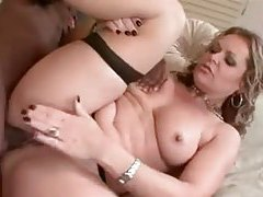 Seamed stockings milf nailed in the ass tubes
