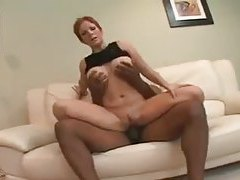 Monster black cock fucks short hair redhead tubes