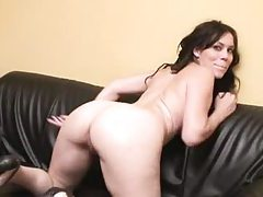 Big ass French slut fucked up the ass tube