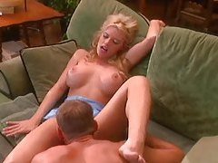 Stiff meat fucking her slippery cunt in video tubes