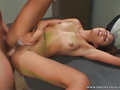 Hardcore sex with sexy Asian tubes
