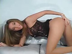Jenna Haze solo pantyhose tease tubes
