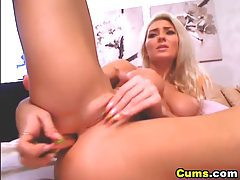 Pink Nipple Busty Blonde Hottie HD tubes