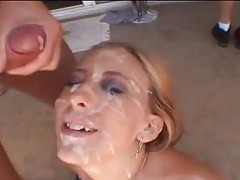 Huge messy interracial bukkake tubes