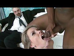 Cumshots at the close of hot cuckold scenes tubes