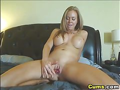 Busty HOT Dildo Masturbating Babe HD tubes