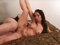 First time video with a sweet brunette girl tubes