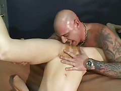 Curly redhead milf squirting and fingering tubes
