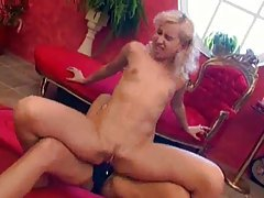 Big tits brunette puts on strapon to fuck babe tubes