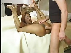 Fit ebony girl anal sex with white guy tubes
