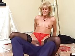 House painter fucks the mature blonde girl tubes